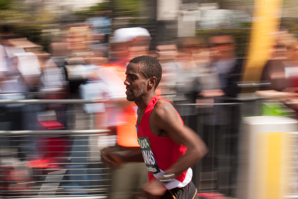 A Runner in The London Marathon