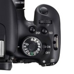Canon Camera Set to Manual Mode